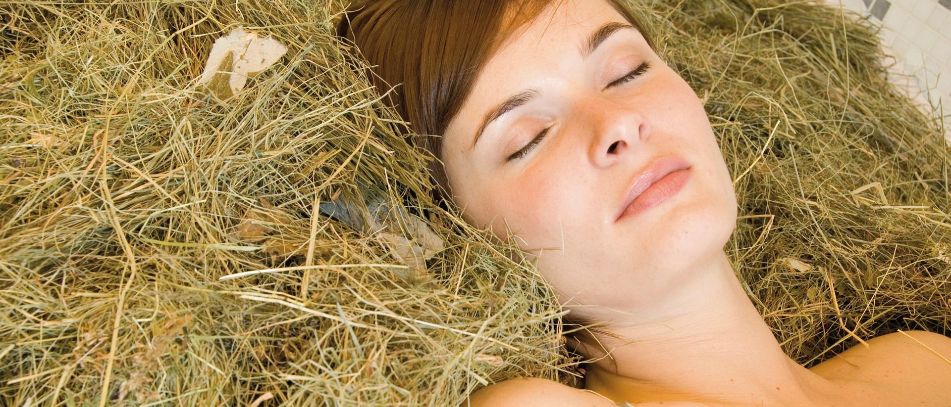 South Tyrolean mountain hay bath