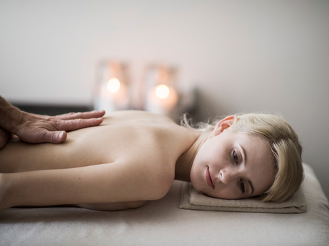 Drainierende Massage